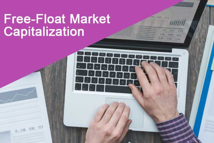 free float market capitalization
