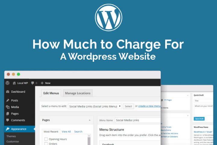 How Much to Charge For A WordPress Website?