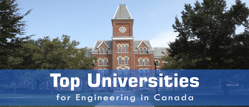 Top Universities in Canada for Engineering
