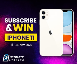 Subscribe and win iphone 11