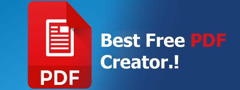 Best Free PDF Creator